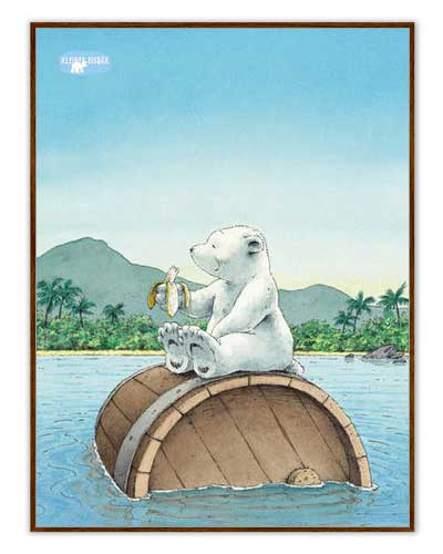 Posters « Plume, le petit ours polaire »