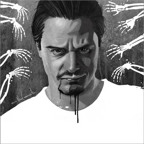 Sticker mural Mike Patton