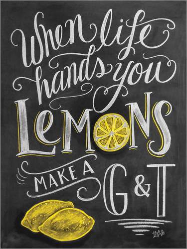 Poster Make a Gin Tonic