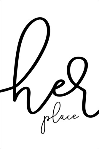Poster Her place