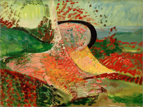 Poster Paysage, abstraction