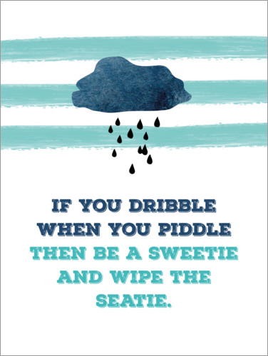 Poster If you dribble