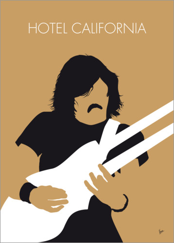 Poster The Eagles, Hotel California