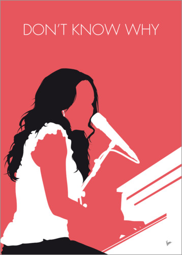 Poster Norah Jones, Don't know why