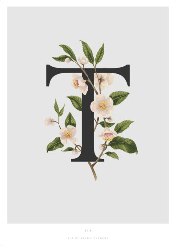 Poster T is for Tea