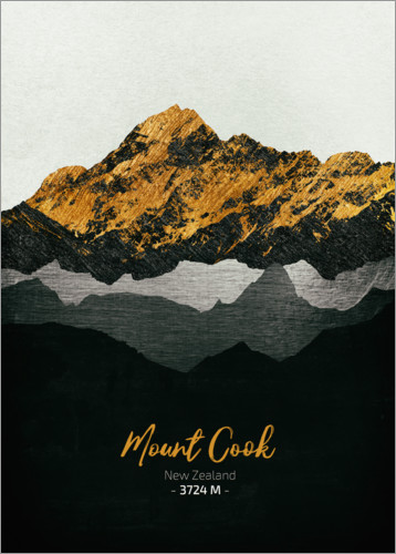 Poster Mount Cook