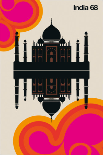 Poster India 68