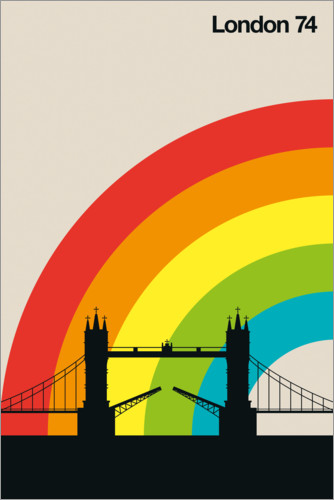Poster London 74