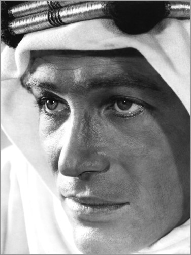 Poster Peter O'Toole - Lawrence d'Arabie