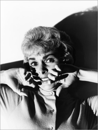 Poster Psycho, Janet Leigh