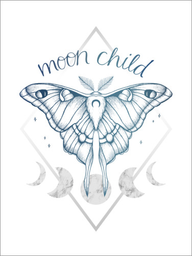 Poster Moon Child