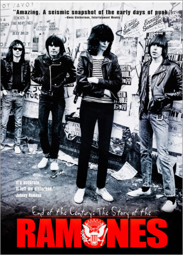 Poster Ramones - End of the century