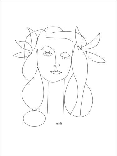 Poster Hommage à Picasso