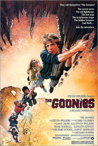 Poster Les Goonies (anglais)