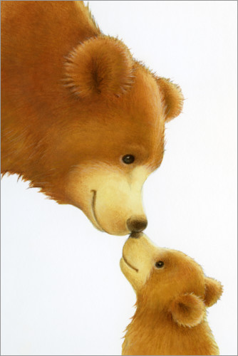 Poster Gros ours, petit ours