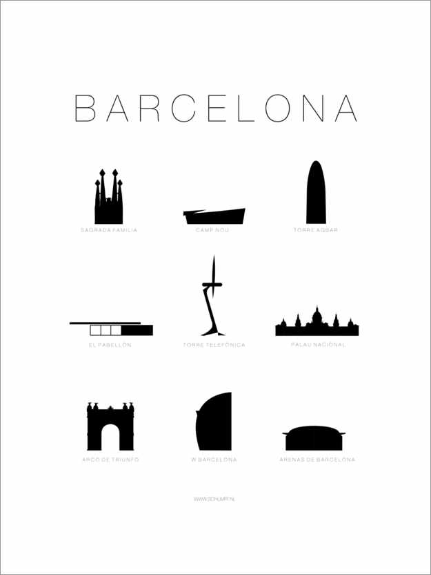 Poster Barcelone