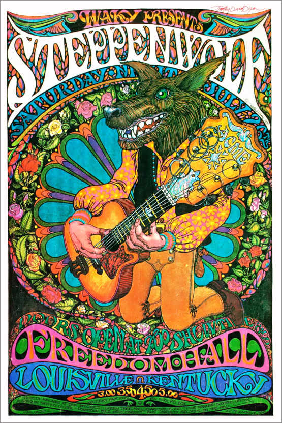 Poster Steppenwolf, Freedom Hall