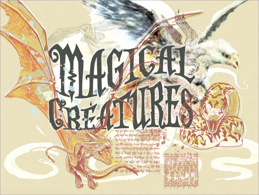 Poster Magical Creatures