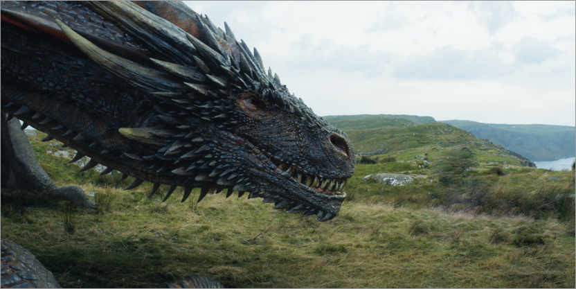 Poster Game of Thrones - Viserion
