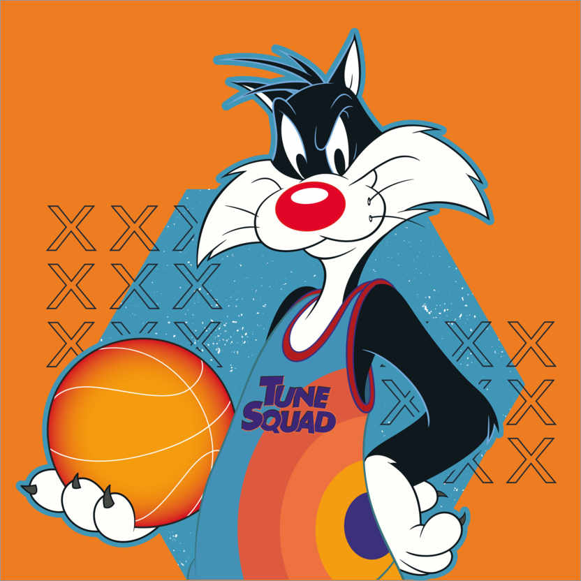 Poster Space Jam 2 - Sylvester