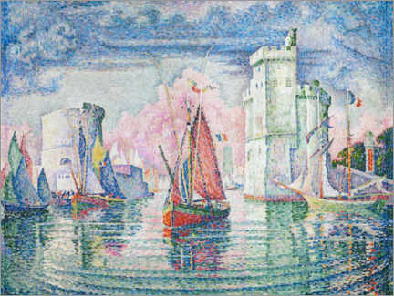 Sticker mural  Le Port de La Rochelle - Paul Signac