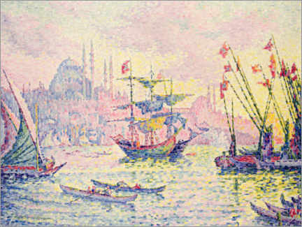 Poster  Constantinople - Paul Signac