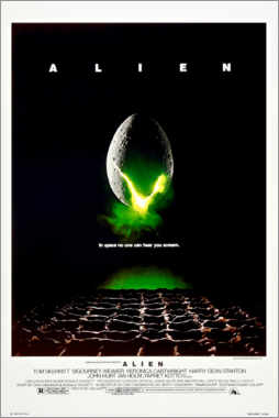 Poster  Alien (anglais) - Entertainment Collection