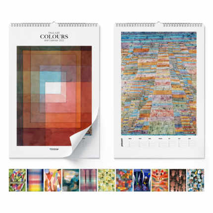 Calendrier mural  Paul Klee, Colours 2020 - Paul Klee