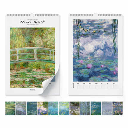 Calendrier mural  Claude Monet, Water Lilies 2020 - Claude Monet