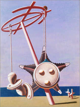 Poster  Énigme - Edward Wadsworth