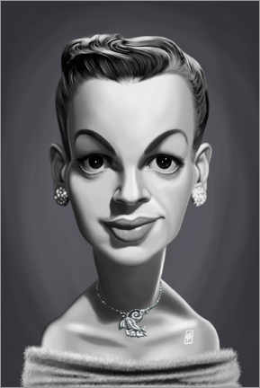 Poster  Judy Garland - Rob Snow | caricatures