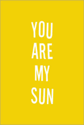 Poster You are my sun