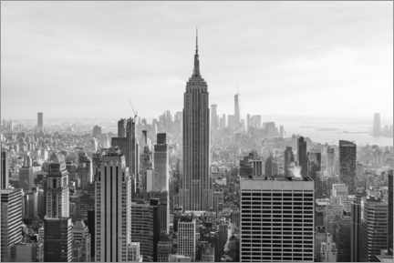 Tableau sur toile  Empire State Building - Jan Christopher Becke