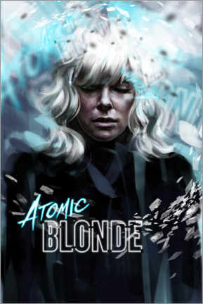 Tableau en verre acrylique  Atomic Blonde - Dmitry Belov