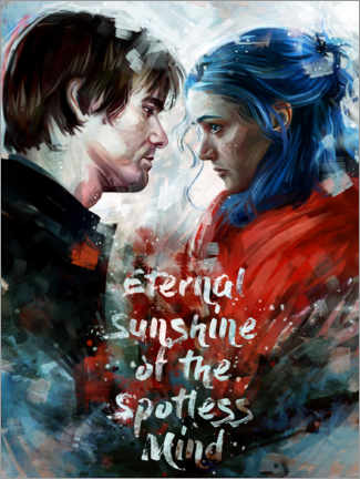 Tableau en verre acrylique  Eternal Sunshine of the Spotless Mind - Dmitry Belov