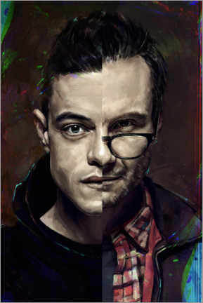 Poster  Mr. Robot - Dmitry Belov