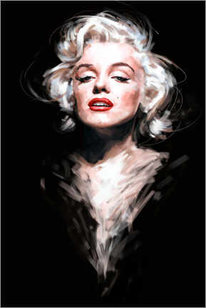 Tableau en aluminium  Marilyn - Dmitry Belov
