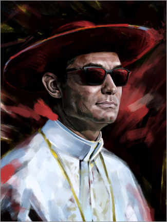 Tableau en PVC  The Young Pope - Dmitry Belov