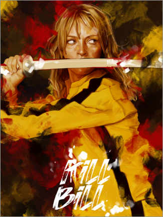 Tableau en plexi-alu  Kill Bill - Dmitry Belov