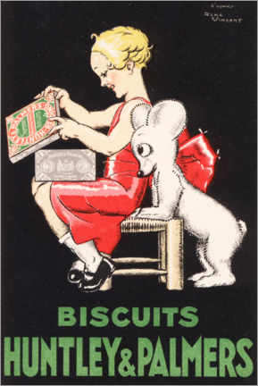 Poster Biscuits Huntley & Palmers