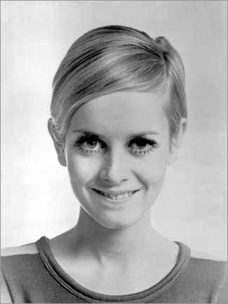 Poster  Twiggy souriant - Celebrity Collection