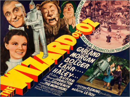 Poster  The wizard of Oz - Entertainment Collection