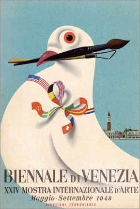 Poster  Biennale de Venise (italien) - Travel Collection
