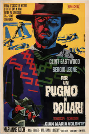 Poster  Pour une poignée de dollars (italien) - Entertainment Collection