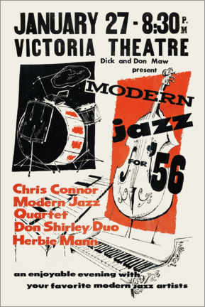 Poster  Modern Jazz - Advertising Collection