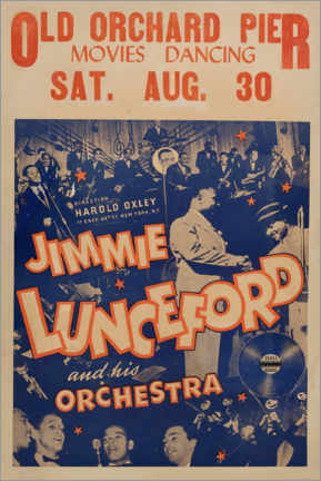Poster  Jimmie Lunceford - Advertising Collection