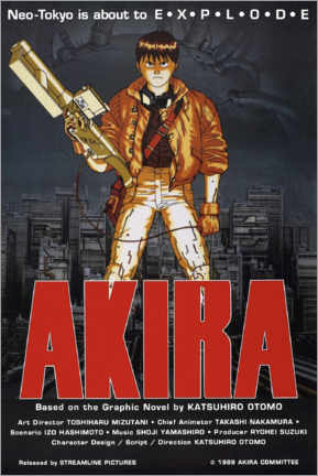 Poster  Akira (anglais) - Entertainment Collection