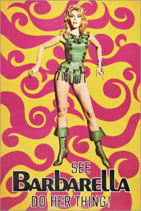 Poster  Barbarella - Advertising Collection