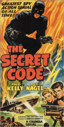 Poster  The secret code - Advertising Collection