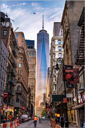 Tableau sur toile  One World Tower à New York - Mike Centioli